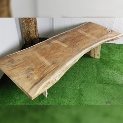 Table en bois de Suar 308cm (SUAR51-300)