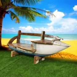 Banc véritable barque de bateau (BARQUE-014)