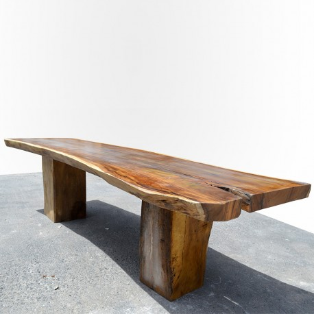 Table en bois de Suar 300cm (SUAR09-300)