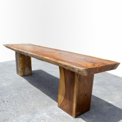 Table en bois de Suar 300cm (SUAR10-300)