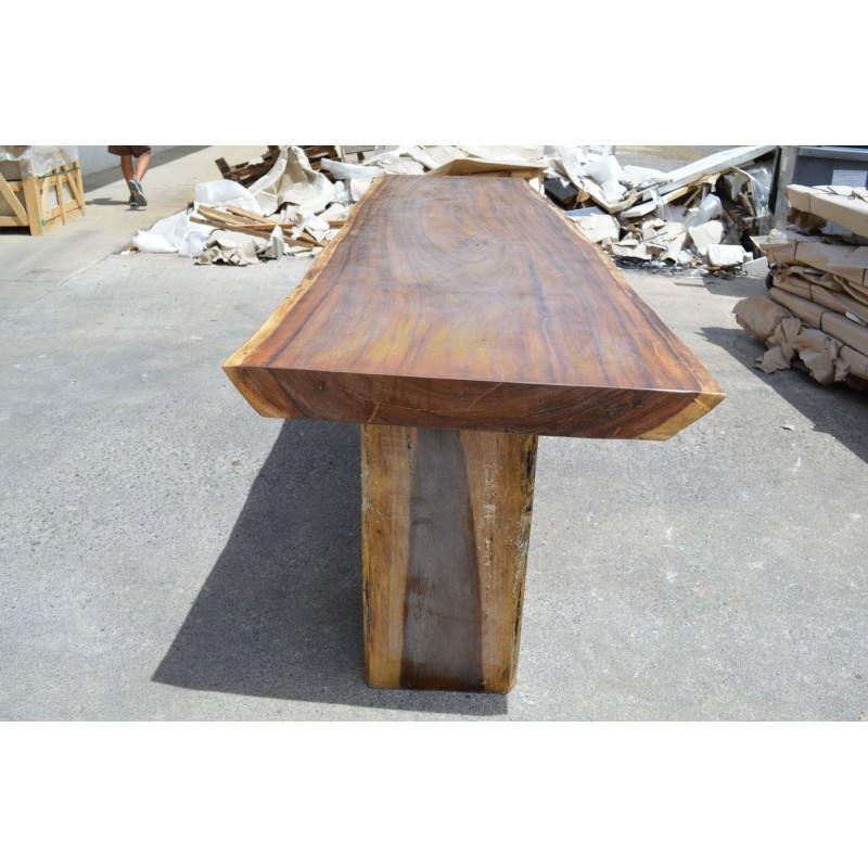 Table en bois de Suar 300cm (SUAR10300)