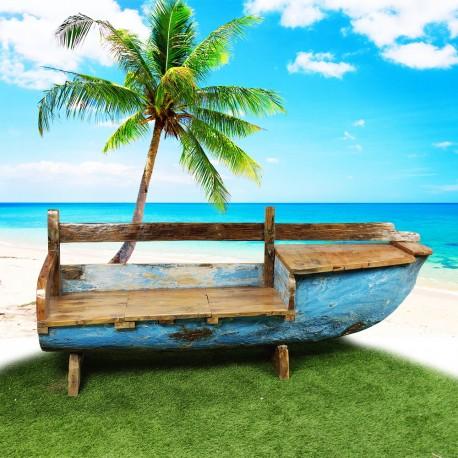 Banc véritable barque de bateau (BARQUE-015)