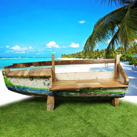 Banc véritable barque de bateau (BARQUE-016)