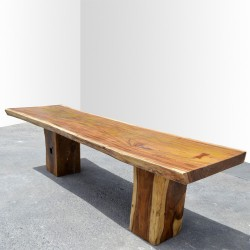 Table en bois de Suar 300cm (SUAR12-300)