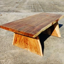 Table en bois de Suar 221 cm (SUAR40-220)