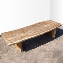 Table en bois de Suar 323cm (SUAR74-300)