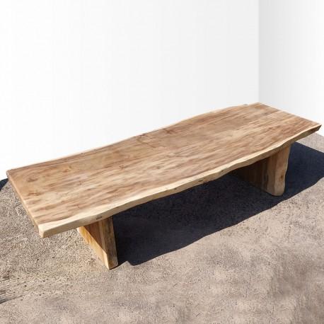 Table en bois de Suar 323cm (SUAR74-300)