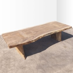 Table en bois de Suar 301cm (SUAR77-300)