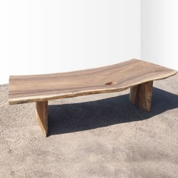 Table en bois de Suar 288cm (SUAR78-300)