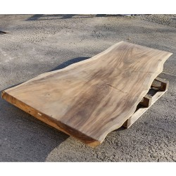 Table en bois de Suar 218cm (SUAR01-218)