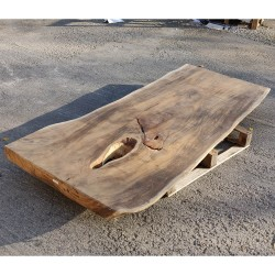 Table en bois de Suar 220cm (SUAR02-220)
