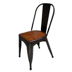 Chaise bois et métal (MET2020)