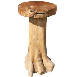 Tabouret haut bois de Teck (TEC3010)