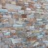 Parement pierre naturelle mix orangé 20x55 (PAR-PIER010)