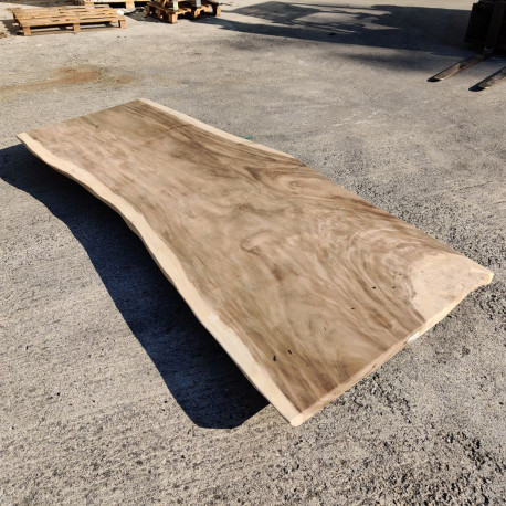 Table en bois de Suar 275cm (SUAR27-275)