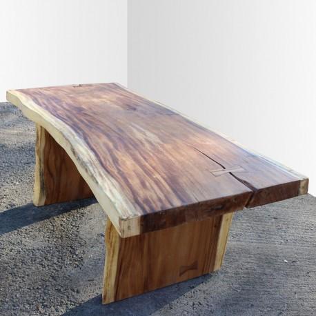 Table en bois de Suar 200cm (SUAR1-200)