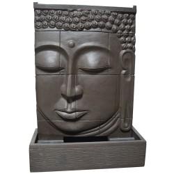Fontaine débordement visage bouddha XL marron (CIM5003MARRON)