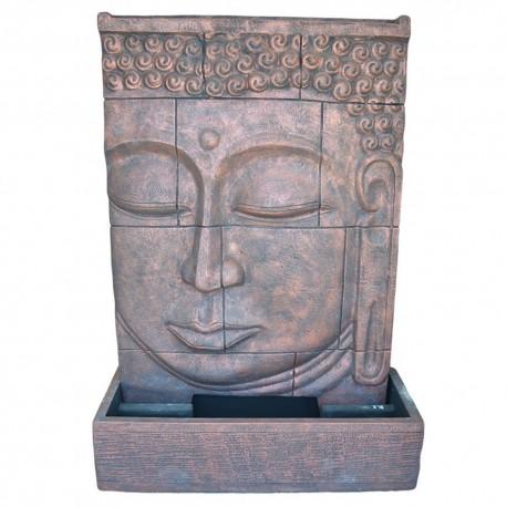 Fontaine débordement visage bouddha XL cuivré (CIM5004CUIVRE)