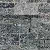 Parement pierre Quartzite noir 18x35 (PIER-A016)