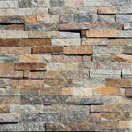Parement pierre Quartzite rustique 15x55 (PIER-G011)