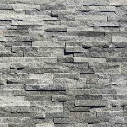 Parement pierre Quartzite gris 10x36 (PIER-P001)