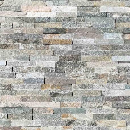 Parement pierre Quartzite mix 10x36 (PIER-P005)