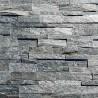 Parement pierre Quartzite gris mix15x60 (SILVER-SHINE)