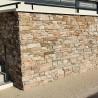 Parement forte épaisseur pierre Ardoise beige 20x55 (BEIGE-SLATE)
