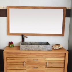 Miroir en Teck 140 cm (MRC004)
