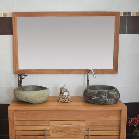 Miroir en Teck 120 cm (MRC005)