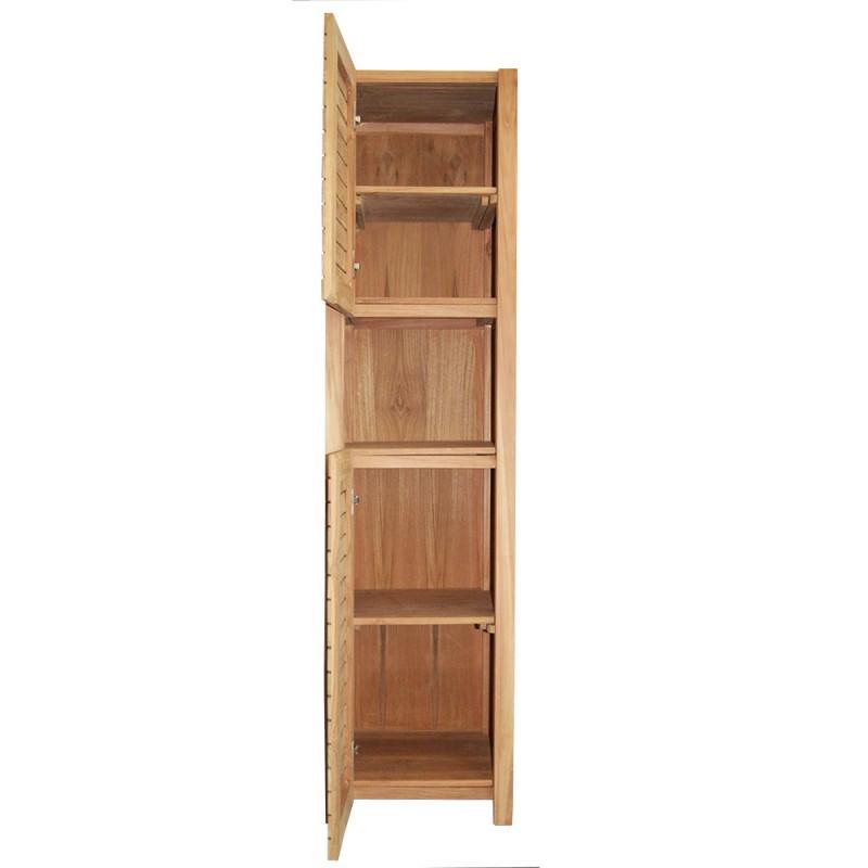 colonne rangement en teck mrc003. Black Bedroom Furniture Sets. Home Design Ideas