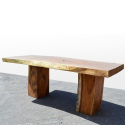 Table en bois de Suar 220cm (SUAR01-220)