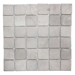 Mosaïque 30x30 Parquet stone 5x5 white (MOS004)