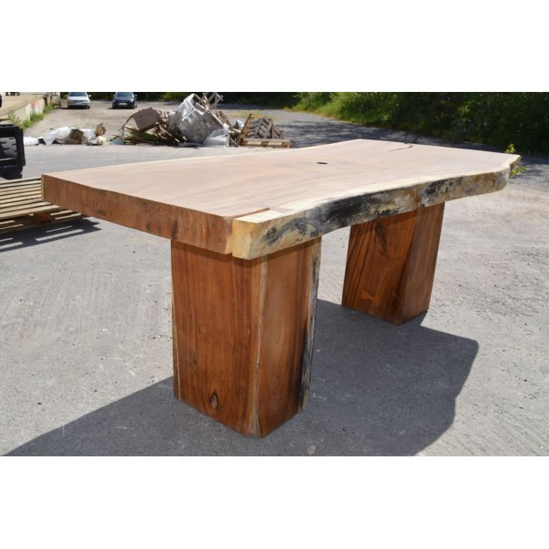 Table en bois de Suar 220cm (SUAR01220)