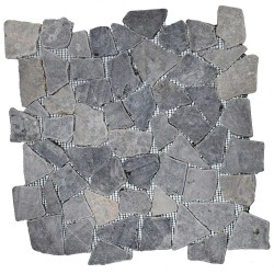 Mosaïque 30x30 Interlock light grey (MOS008)