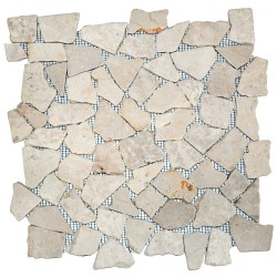 Mosaïque 30x30 Interlock mix white (MOS011)
