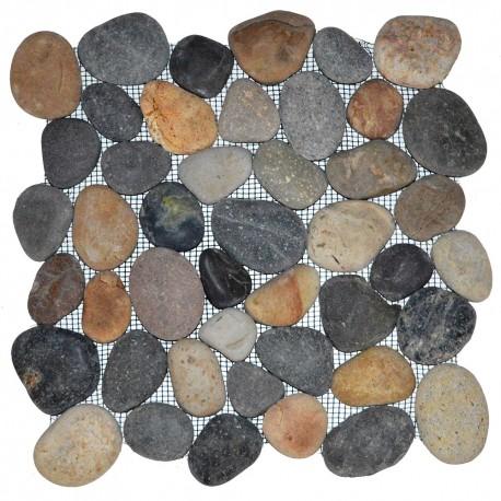 Mosaïque 30x30 pebble panca warna (MOS017)