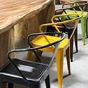 Chaise, tabouret et banc