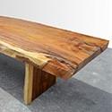Table en bois de Suar massif