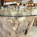 Table en bois de Teck