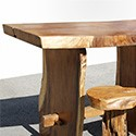 Table haute en Suar