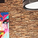 Parement mural en bois