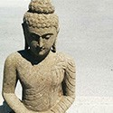 Statue en pierre naturelle