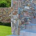Parement mural en pierre extérieur