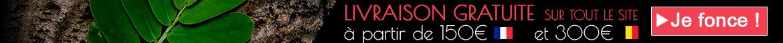 Livraison gratuite à partir de 150 euros d'achat en France et 300€ en Belgique sur Univers Asie
